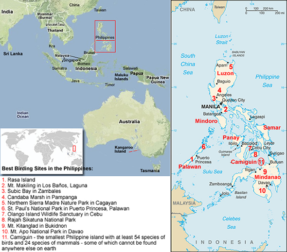 Solomon Islands Distribution Map