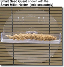 Smart Seed Guard shown with the Smart Millet Tray