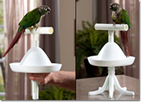 The Percher Bird Perch - Portable Perch, Bird Stand and Training Tool