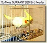 The NO-MESS Bird Feeder