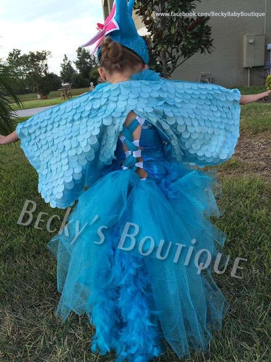 Blue Macaw Childrens Halloween Costume